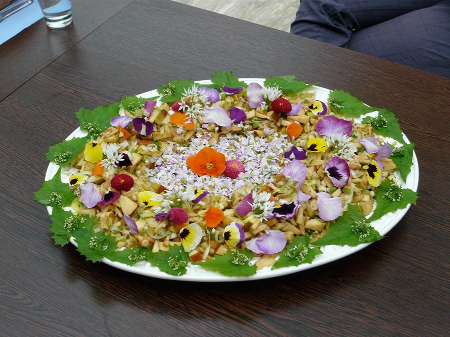 Kohlrabi-Carpaccio